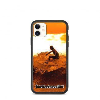 Biodnedbrytbart iPhone fodral – Bordertraveller Ocean