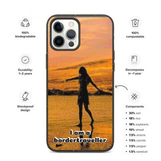Biodegradable iPhone case – Bordertraveller Beach