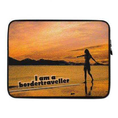 Laptop Sleeve – Bordertraveller Beach