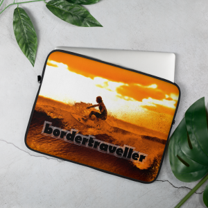 Laptop Sleeve – Bordertraveller Ocean